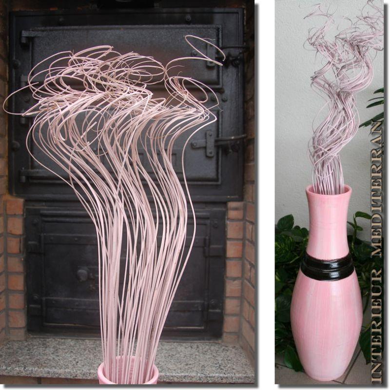 Trockenblumen modern art gr sse cm farbe rosa - Mediterrane wandbilder ...