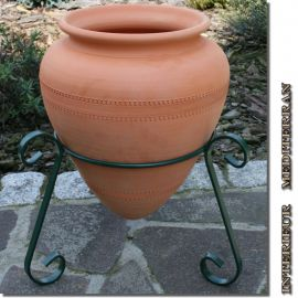 wintergarten bodenvasen aus keramik terracotta g nstig einkaufen. Black Bedroom Furniture Sets. Home Design Ideas