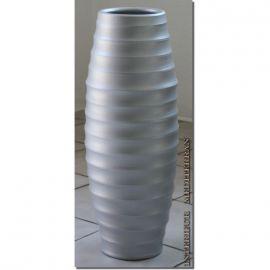 Bodenvase Keramik Silber Ca 50 Cm Casulo 39 90