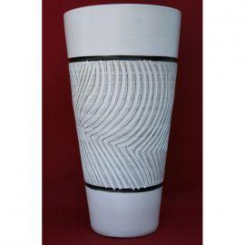 Bodenvase Pflanzkubel Keramik Branco Magico Gr Oum