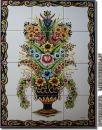 Wandkacheln 12 Stück je Motiv - Blumenstrauss -...