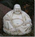 "FIGUR ""Lachender BUDDHA"" Glücksbuddha"