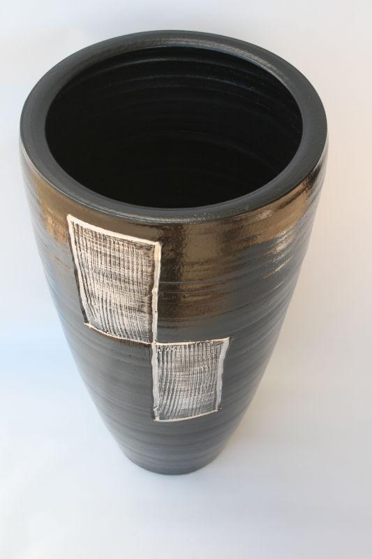 Bodenvase chrome gr e 50 cm 39 90 for Kacheln mediterran