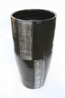 50 cm seite 2 bodenvasen aus keramik terracotta g nstig einkaufe. Black Bedroom Furniture Sets. Home Design Ideas