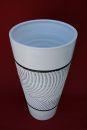 "BODENVASE Pflanzkübel Keramik ""Branco Magico"" - Größe 70 cm"