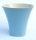 Blumentopf Pflanztopf Keramik komplett  glasiert wasserdicht blau