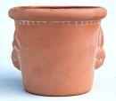 Topf Terracotta Pflanztopf Blumentopf Kräutertopf mit Motiv Hase oder Küken