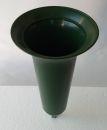 Grabvase Vaseneinsatz - Grün