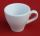 Espresso Tasse mit Unterteller - Weiss Keramik Lebensmittelecht in 2 Varianten