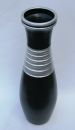 "Bodenvase Keramik Schwarz - Silber - ca.60 CM - Modell: ""Black Pearl"""