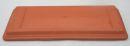 Untersetzer hochwertige echte Terracotta Blumenkasten - Braun - Balkonkasten-Untersetzer 60cm 50cm oder 40cm